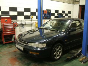 LPG Conversion Honda Accord 2.2L year 1996