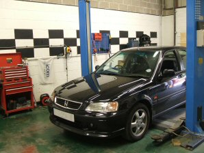 LPG Conversion Honda Civic 1.8L year 2000
