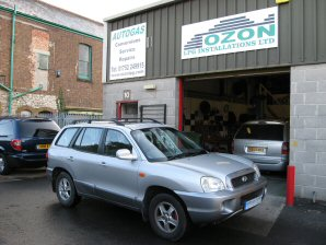 LPG Conversion Hyundai Santa Fe 2.4L year 2002