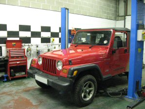 LPG Conversion Jeep Wrangler 2.5L year 1998