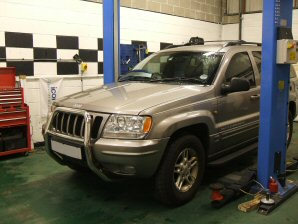 LPG Conversion Jeep Grand Cherokee 4.0L year 2000 SINGLE POINT SYSTEM