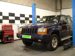 LPG Conversion Jeep Grand Cherokee 4.0L year 1996