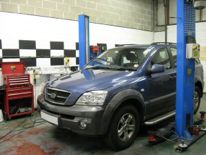 LPG Conversion Kia Sorento 3.5L V6 year 2001