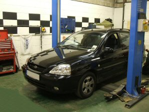LPG Conversion Kia Rio 1.3L year 2005