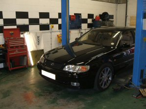 LPG Conversion Lexus GS300 3.0L L6 year 1997
