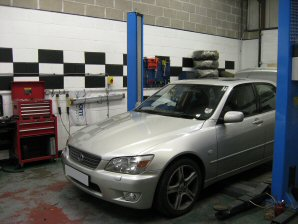 LPG Conversion Lexus IS200 2.0L year 2002