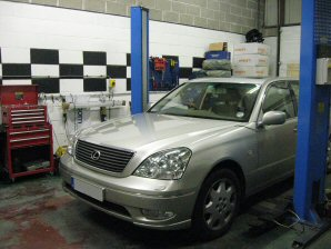 LPG Conversion Lexus LS430 4.3L V8 year 2003
