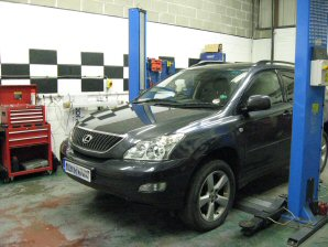 LPG Conversion Lexus RX300 3.0L V6 year 2003