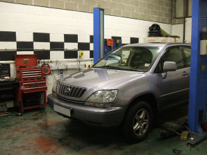 LPG Conversion Lexus RX300 3.0L V6 year 2001