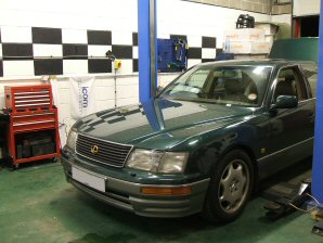 LPG Conversion Lexus LS400 4.0L V8 year 1997