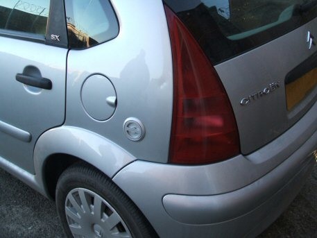 LPG Conversion Citroen C3 1.4L year 2003 with LPG filling point