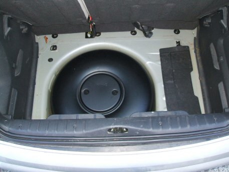 LPG Conversion Citroen C3 1.4L year 2003 with 54L LPG tank