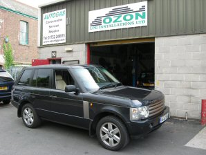 LPG Conversion Range Rover 4.4L V8 year 2003