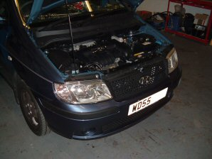 LPG Conversion Hyundai Matrix 1.4L year 2005