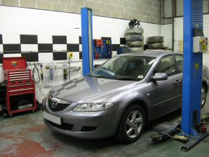 LPG Conversion Mazda 6 1.8L year 2003