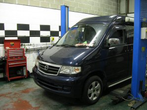 LPG Conversion Mazda Bongo 2.0L year 2002
