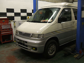LPG Conversion Mazda Bongo 2.5L V6 year 1998