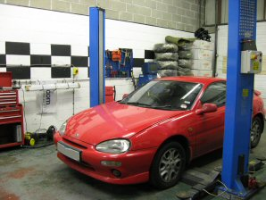 LPG Conversion Mazda MX3 1.8L V6 year 1993