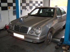 LPG Conversion Mercedes-Benz E320 3.2L V6 year 1999