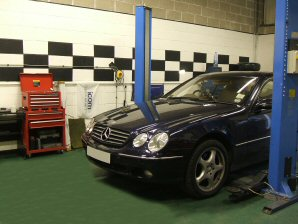 LPG conversion Mercedes-Benz 500CL V8 year 2004