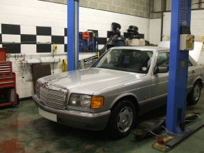 LPG Conversion Mercedes-Benz S300 3.0L year 1989