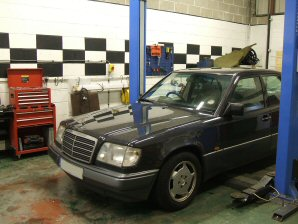 LPG Conversion Mercedes-Benz E200 2.0L year 1995