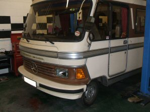 LPG Conversion Mercedes-Benz Hymer-Mobil 2.4L year 1986