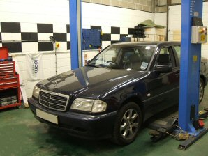 LPG Conversion Mercedes-Benz C200 W202 2.0L year 2000