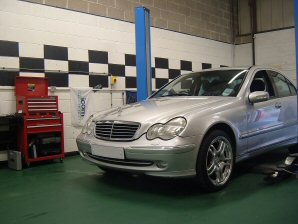 LPG Conversion Mercedes-Benz C240 V6 year 2001