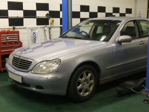 LPG Conversion Mercedes-Benz S280 V6 year 2000