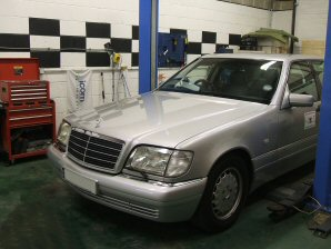 LPG Conversion Mercedes-Benz S280 W140 2.8L year 1998