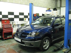 LPG Conversion Mitsubishi Outlander 2.4L year 2002