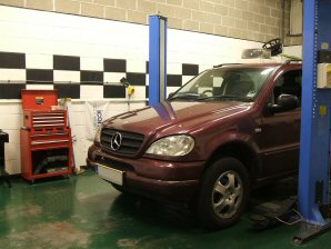 LPG Conversion Mercedes-Benz ML320 3.2L year 1998