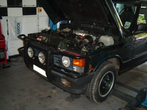 LPG Conversion Land Rover Range Rover Vogue 3.9L V8 year 1993