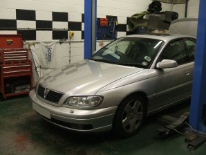 LPG Conversion Vauxhall Omega 3.0L V6 year 2000