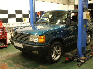 LPG Conversion Land Rover Range Rover 4.6L V8 year 1999