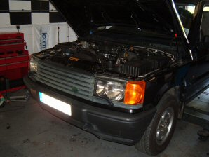 LPG Conversion Land Rover Range Rover 4.0L V8 year 1996
