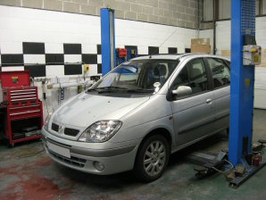LPG Conversion Renault Scenic 2.0L year 2001