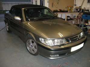 LPG Conversion SAAB 9-3 Aero 2.0L Year 2003