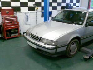 LPG Conversion SAAB 9000 2.0L Turbo year 1995