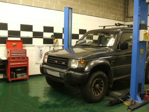 LPG Conversion Mitsubishi Shogun 3.0L V6 year 1993
