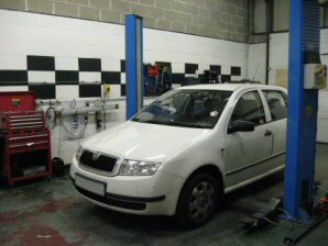 LPG Conversion Skoda Fabia 1.4L year 2001