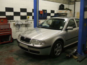 LPG Conversion Skoda Octavia 2.0L Turbo year 2003