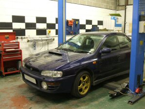LPG Conversion Subaru Impreza 2.0L V4 year 2001