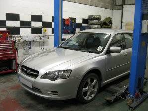 LPG Conversion Subaru Legacy 2.5L V4 year 2004