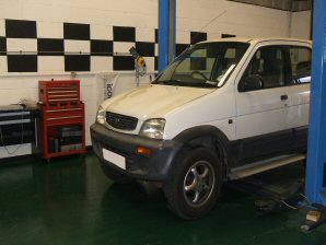 LPG Conversion Daihatsu Teriot 1.3L year 1998