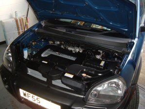 LPG Conversion Hyundai Tucson 2.0L year 2005