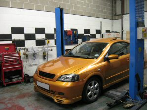LPG Conversion Vauxhall Astra 1.8L year 2000