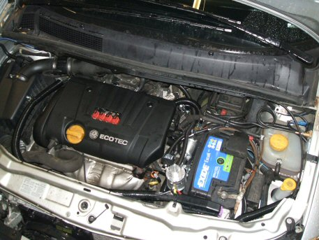 LPG conversion Vauxhall Zafira 1.8L year 2004 with Multipoint Gas
