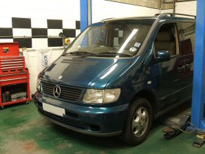 LPG Conversion Mercedes-Benz Vito V230 year 1998